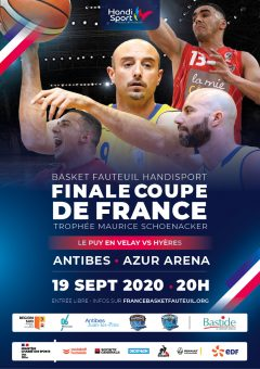 Finale de la Coupe de France de Basket Fauteuil @ Azur Arena