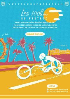 100km à la promotion du Handisport @ Nice