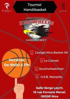 Tournoi Loisirs Basket Fauteuil @ Salle Leyrit