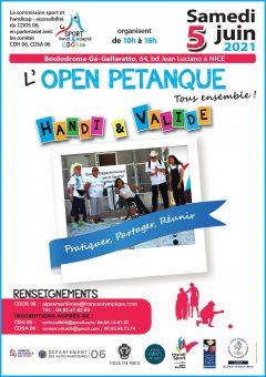 OPEN DE PETANQUE HANDI VALIDE @ 62 Avenue Gé Gallaratto