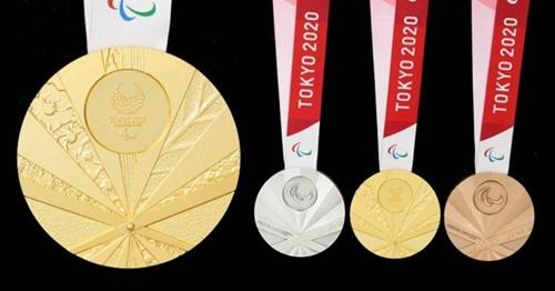 Les paralympiques et les médaillés du département